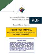 Field Study -1 module