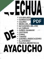 Quechua de Ayacucho