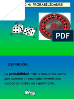 Unidad 4 Probabilidades 4°medios