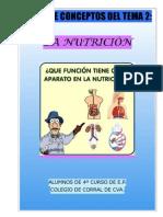 La nutrición 2