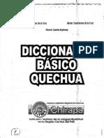 Diccionario Básico Quechua - Elmer Castellanos, Héctor Castellanos, Vicenta Ccanto
