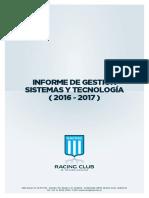Gestion 2017 - Racing