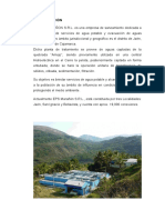 355106908 Informe Planta de Tratamiento Eps Maranon Srl