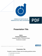 AIAA Presentation Template 22May2018_16x9