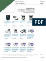 Analox | Gas Analyzers and Temperature Monitors |Hyperbaric Chamber Equipment