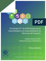 el estndar p5 de gpm global para la sostenibilidad en la sostenibilidad en la direccin de proyectos.pdf