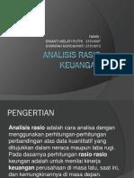 Analisis Laporan Rasio Keuangan