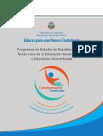 Programa MEP Nuevo Estudios Sociales