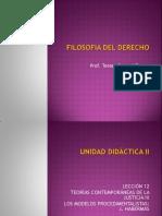Unidad Didáctica II Lección 12 FILOSOFIA DERECHO