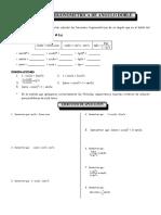 Funciones Trig. de Angulos Doble
