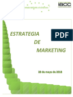 Proyecto Final Estrategia de Marketing