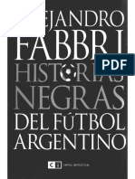 Fabbri Alejandro - Historias Negras Del Futbol Argentino
