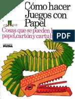Como hacer juegos con papel.pdf