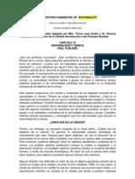 Traduccion Capitulos 19 y 20 the Oxford Handbook of Rationality