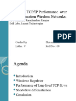 Improving Tcp Ip Performance Over Wireless Network