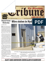 Front Page - October 15, 2010