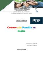 Guia Didactica La Familia (The Family)