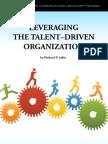 Leveraging the Talent Driven Organization