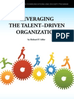 Leveraging the Talent Driven Organization