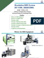 Kobe Steel HRRBS System