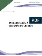 l. Introducción a Los Sistemas de Gestión