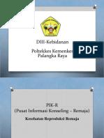 PIK-R (Pusat Informasi Konseling – Remaja)
