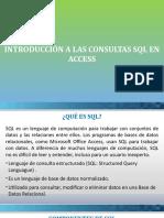 SQL en Access 1 Consultas Seleccion