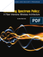 Rethinking Spectrum Policy