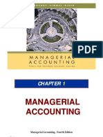 Ch01 Managerial Accounting