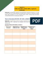 Semejanzas entre ISO 9001, ISO 14001, OHSAS 18001
