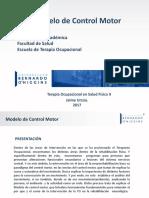 TERAPIA OCUPACIONAL - Modelo de Control Motor (1)