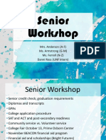 Fall Senior 2018-2019