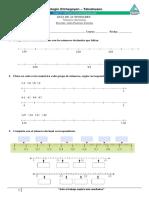 Guía Decimales. Recta Numérica, Orden y Comparación