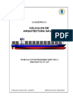 05. Naval Architecture - Arquitectura Naval - 2650 TEUs Containership.pdf
