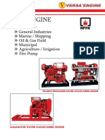 Diesel Engine for Industries