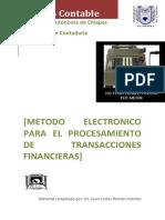 18.Método Electrónico Para El Procesamiento de Transacciones Financieras