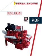 Diesel Engine for Fire Pump-fm Approved
