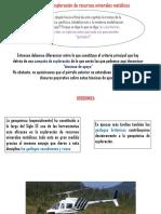 Exposicion Alteraciones (Geoquimica)