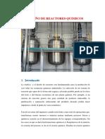 ecuaciones de diseño de reactores