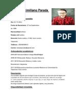 Curriculum Lukas Max