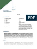 Sílabo - Morfofisiologia II - Upao - 2018-20