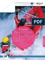 ROMANIA Physical Activity Factsheet
