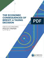 The Economic Consequences of Brexit 27 April 2016