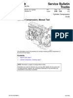 Cylinder Compression, Manual Test D12D