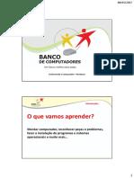 Apresentação de AULA - Básico de Manutenção de Equi. de Info.
