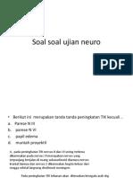 Soal Ujian Neuro