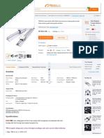 Tbr20uu Linear Motion Ball Slide Units Aluminum Linear Guide Circular Linear Motion Guide Linear Guid