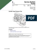 Cylinder Head Pressure Test D12D