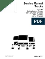 Cooling System, Service MP7 EPA2004, EPA2007