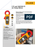 Fluke Bangladesh 368 FC Leakage Current Clamp Meter
